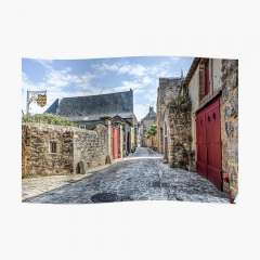 Le Mans Medieval Streets - Poster