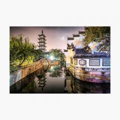 Nanxiang Ancient Town (Shanghai, China) - Photographic Print