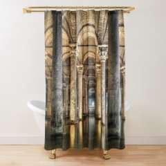Sunken Palace or Basilica Cistern (Istanbul, Turkey) - Shower Curtain