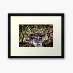 Jiading Confucius Temple (Shanghai, China) - Framed Art Print