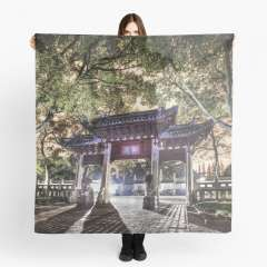 Jiading Confucius Temple (Shanghai, China) - Scarf