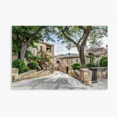 Pals, A Lovely Medieval Village (Catalonia) - Canvas Print