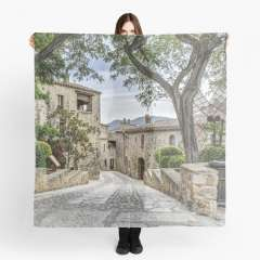 Pals, A Lovely Medieval Village (Catalonia) - Scarf