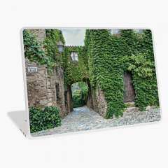 Medieval Village of Peratallada (Catalonia)  - Laptop Skin