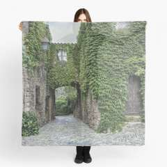 Medieval Village of Peratallada (Catalonia)  - Scarf