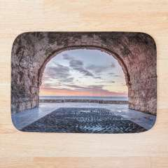 A Window to The Mediterranean Sea, Altafulla (Catalonia) - Bath Mat