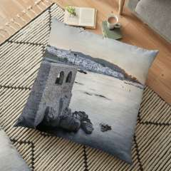 Sunrise At Calella de Palafrugell (Catalonia) - Floor Pillow