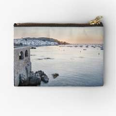 Sunrise At Calella de Palafrugell (Catalonia) - Zipper Pouch