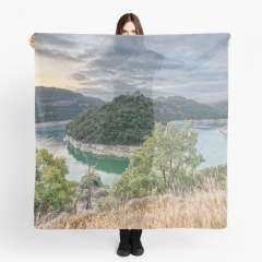Sunrise at Sant Pere de Casserres (Catalonia) - Scarf