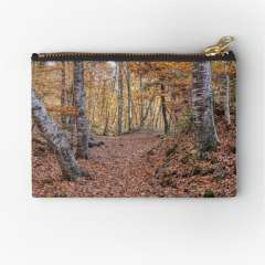 Neverending Autumn in la Fageda d'en Jordà - Zipper Pouch