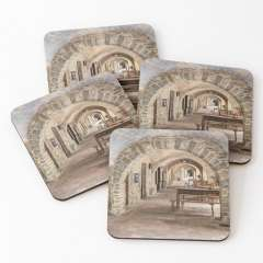 Arcades At Plaça Major (Monells, Catalonia) - Coasters (Set of 4)
