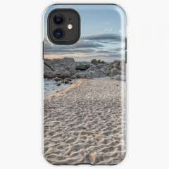 Sunrise Between Waters (Cala Estreta, Catalonia) - iPhone Tough Case