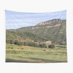 Walking Around Santa Pau (La Garrotxa, Catalonia) - Tapestry