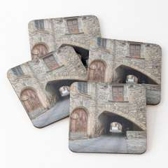 Casa Minguella (Guimerà, Catalonia) - Coasters (Set of 4)