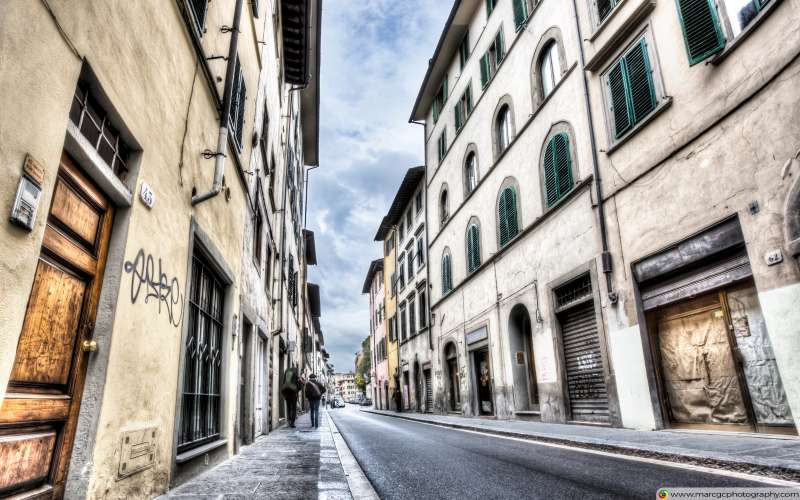 Florence Streets (Italy) Free 4K HD Wallpaper
